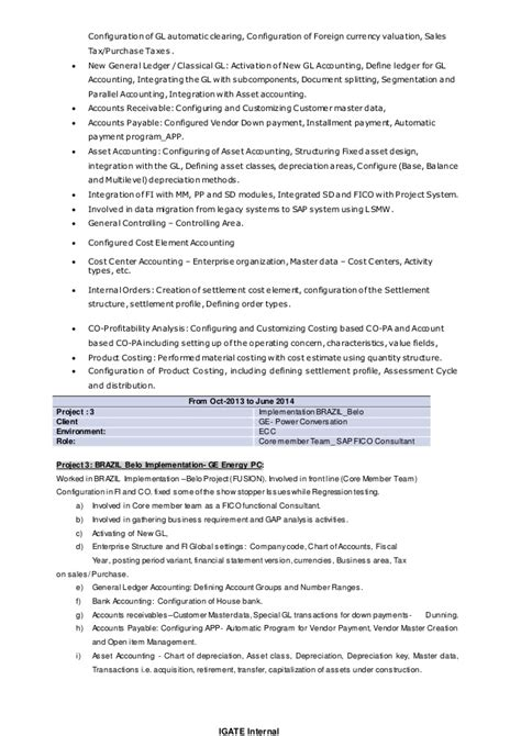 sap consultant resume sle sle resume for sap mm consultant 28 images sap release