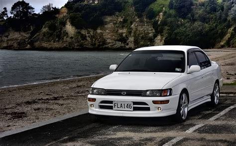 Bumper L Great Corolla 1994 95 Ae101 toyota corolla se tuned toyota corolla jdm japanese sportscar white corollase jdmchat