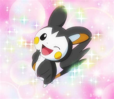 wallpaper gif pokemon pokemon minccino and emolga emolga and minccino by hot