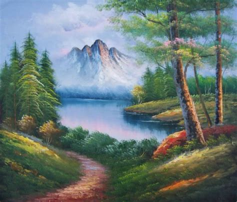 painting nature paintings frames