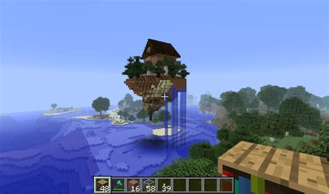 cool minecraft house cool floating house minecraft project
