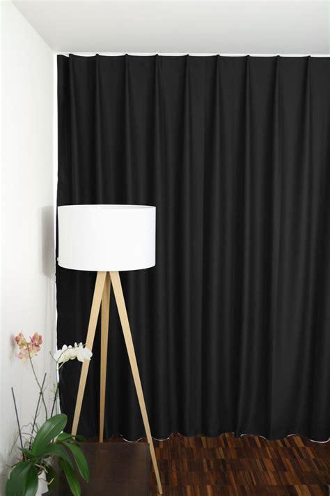 vorhang schwarz blickdichter vorhang schwarz vorhang123 at