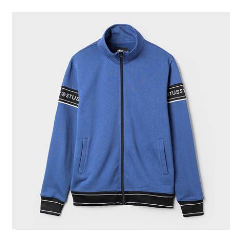 Hoodie Stussy Import st 252 ssy s jackets st 252 ssy track jacket blue