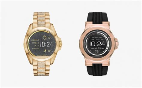 Michael Kors releases two Android Wear smartwatches   GSMArena blog