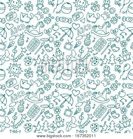 create a doodle drawing wallpapers background for boys and doodle children