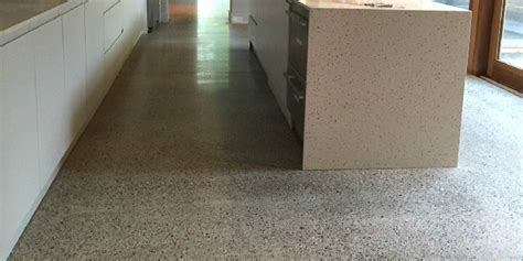 Can any old concrete be polished?   P Mac