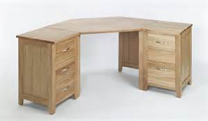 Corner Oak Computer Desk Compton Solid Oak Furniture Corner Office Pc Computer Desk Ebay