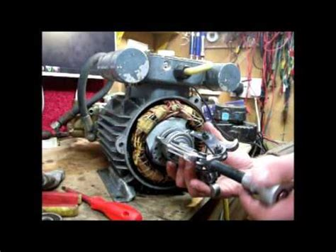Bearing Remover By Kynan Motor how to remove replace bearings in a electric motor