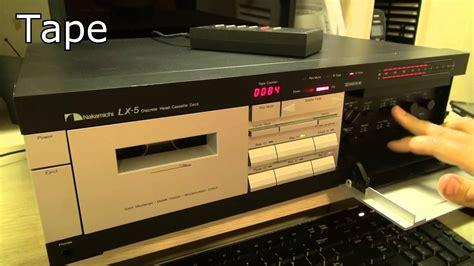 nakamichi lx 3 cassette deck nakamichi lx 5 discrete 3 cassette deck doovi