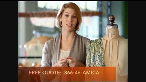 amica commercial actresses amica insurance commercial actress