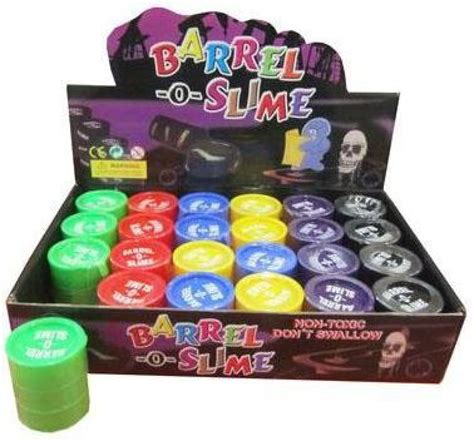 tutorial barrel o slime gooddeals barrel o slime 2 quot red black yellow green