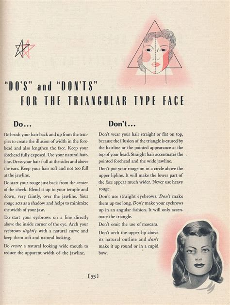 dos and donts for heart face shapes dos and donts for triangle face shape 9 best women s