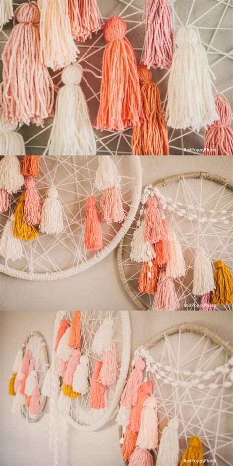 Crafts For Baby Shower Guests - 20 cute diy yarn crafts you can t wait to do right away noted list
