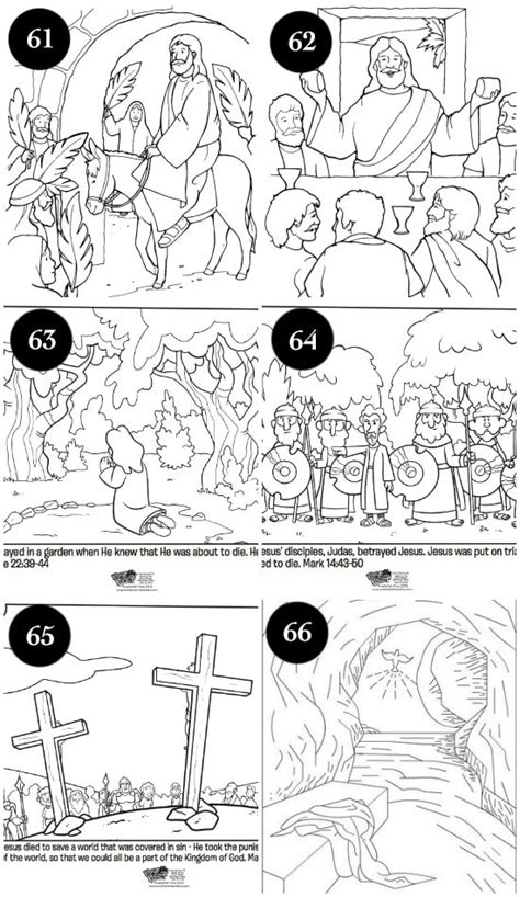 coloring pages for the easter story 100 ideas for a centered easter