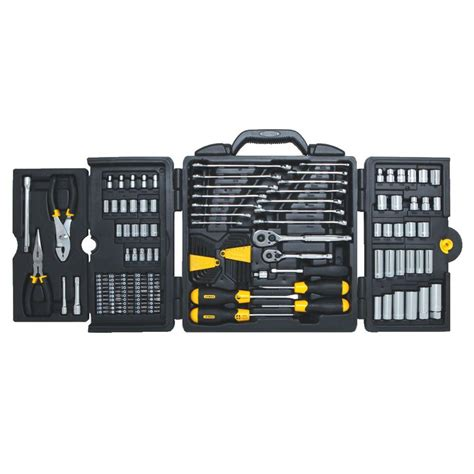 stanley mechanic tool set 150 97 543 the home depot