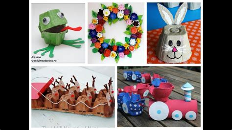 easy recycled crafts for egg crafts for easy recycled craft