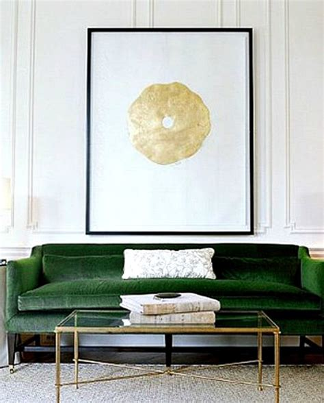 Olive Green Velvet Sofa by Green Velvet Armchair Mad About The House