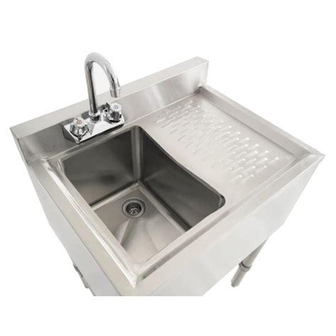 10 x 12 bar sink 1 bowl 10 x 14 x 10 underbar sink w r drainboard