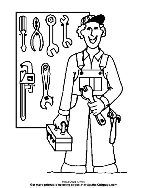 tools coloring pages preschool tool coloring page coloring home