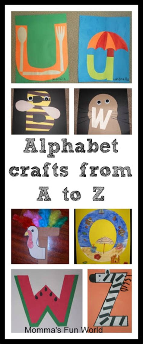 Papercraft Alphabet - iheartliteracy resource up alphabet