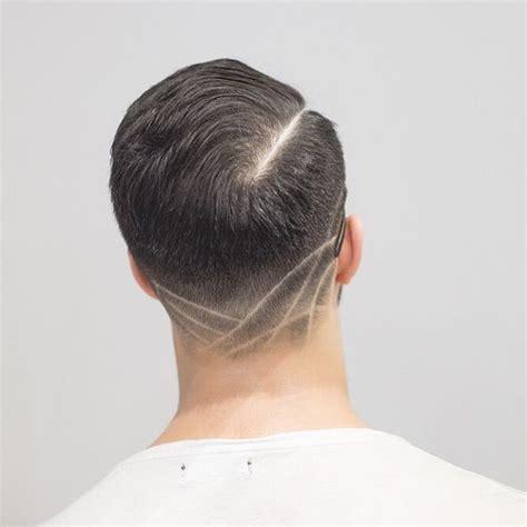 v neck haircut the neck taper