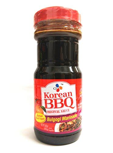 Cj Beef Bulgogi Marinade Bbq Sauce Beef korean bbq for beef 29 63fl oz pack of 1 food beverages tobacco food items condiments