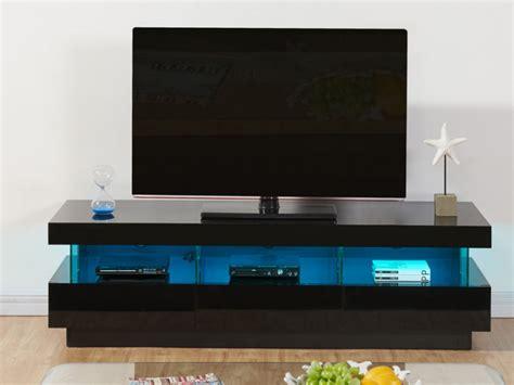 Meuble Tv Noir Laque