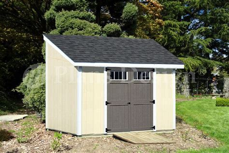 8×10 Shed Plans Materials List