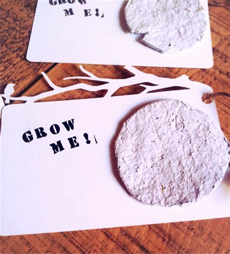 How To Make Plantable Seed Paper - plantable seed paper tutorial twigg studios