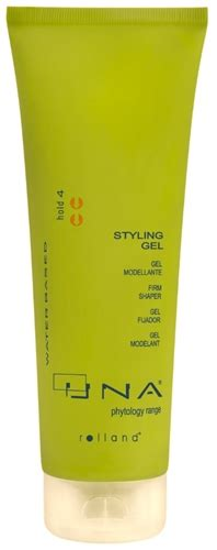 una hair products from italy una wet look styling gel for medium to strong hold