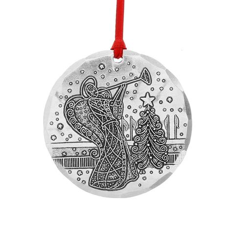 2015 annual christmas ornament 2pk usa made by wendell august