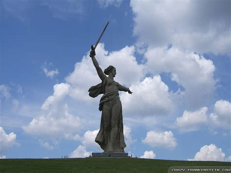 Statue Home Decor The Motherland Calls Wallpapers Pictures