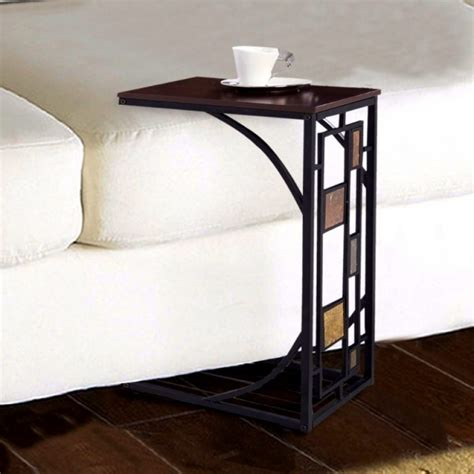 modern sofa side table slide under bitdigest design