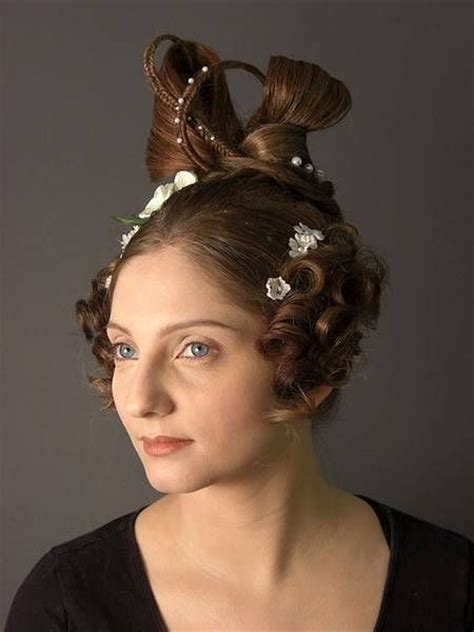 hairstyles from 1830s periodo rom 225 ntico ca 1830 historical hairstyles pinterest