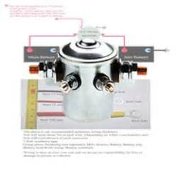 Dual battery solenoid isolator