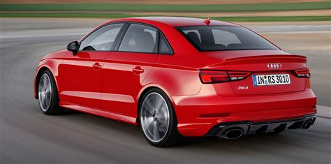 Price Of Audi Sedan by 2017 Audi Rs3 Sedan Revealed With Tt Rs Five Pot Updated