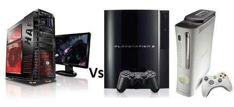 console per pc pc o console per giocare