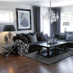 livingroom tables best 25 black living rooms ideas on black