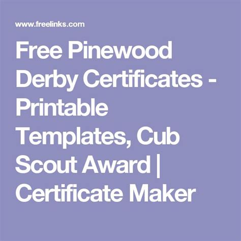 cub scout certificate templates best 20 free certificate templates ideas on