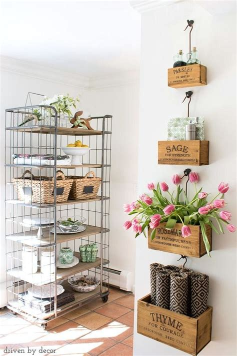 Wall Hanging Bakers Rack Best 25 Small Wall Decor Ideas On