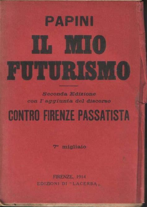 libreria antiquaria mazzei futurism marelibri