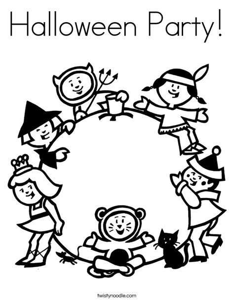 halloween birthday coloring page halloween party coloring pages memes