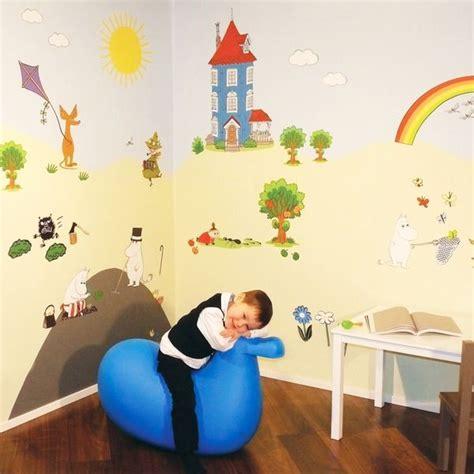 Moomin Wall Decals sein 228 tarrat sein 228 maalaus kruunaisi juhlapaikan sein 228 t