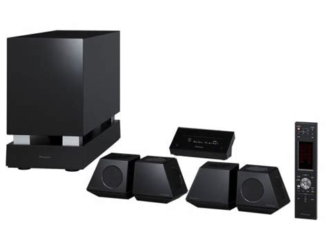 pioneer 5 1 home theater does away with receiver box