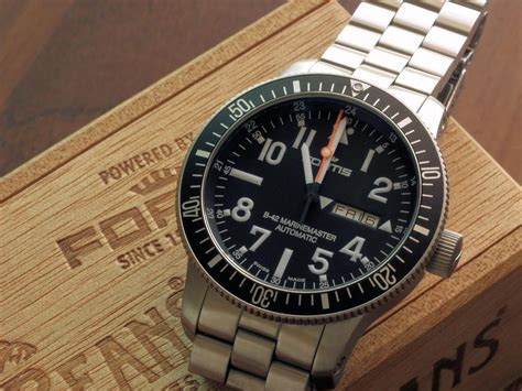 Fortis B42 Marinemaster inspired design fortis b 42 marinemaster