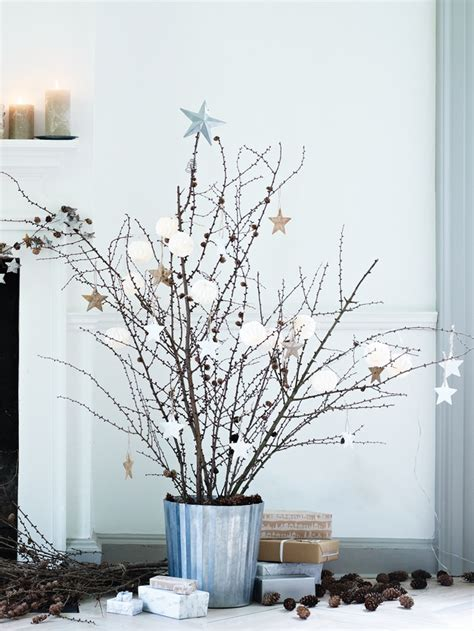 twig tree home decorating top 40 christmas decoration made with twigs and branches
