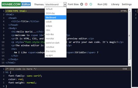 themes advanced editor template js ল ইভ ক ড এড টর html css js live editor ক ভ ব কম