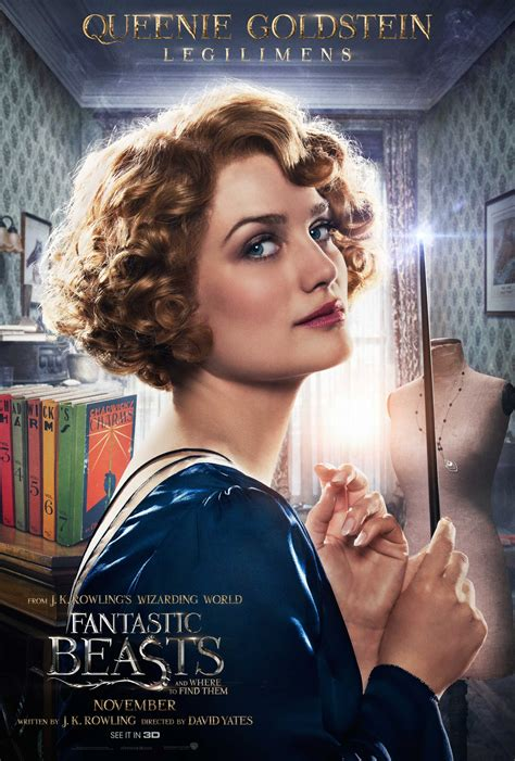 Where Do Find Fantastic Beasts And Where To Find Them Character Posters 8 Heyuguys