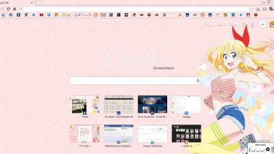 theme google chrome nisekoi nisekoi chrome themes themebeta