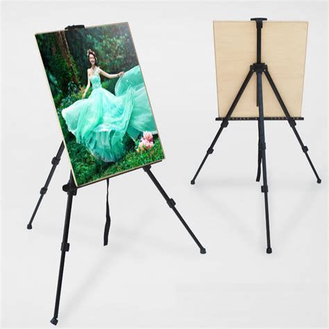 Tripod Poster new led writing board easel adjustable sign menu tripod stand pop poster display ebay